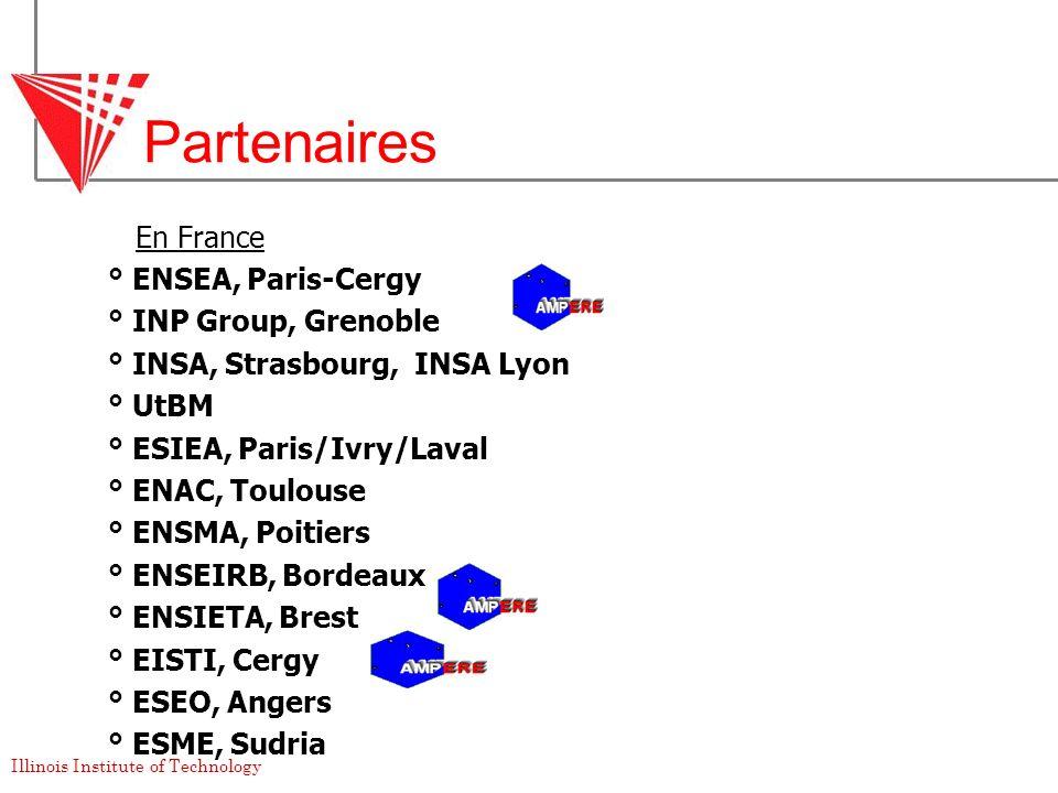 Partenaires En France ° ENSEA, Paris-Cergy ° INP Group, Grenoble