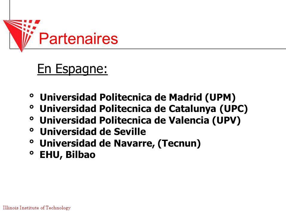 Partenaires En Espagne: ° Universidad Politecnica de Madrid (UPM)