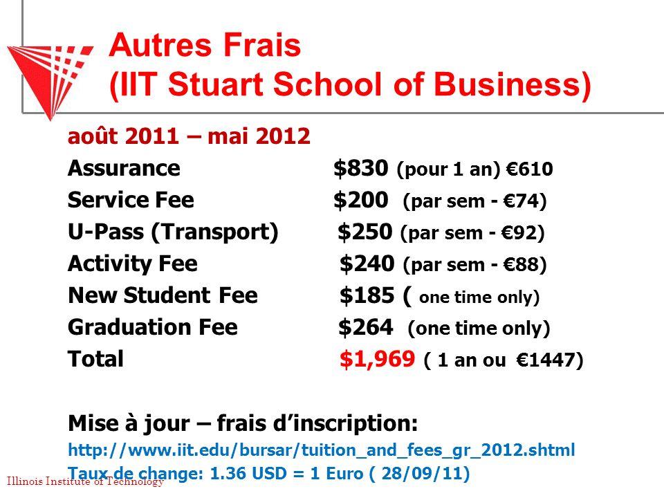 Autres Frais (IIT Stuart School of Business)