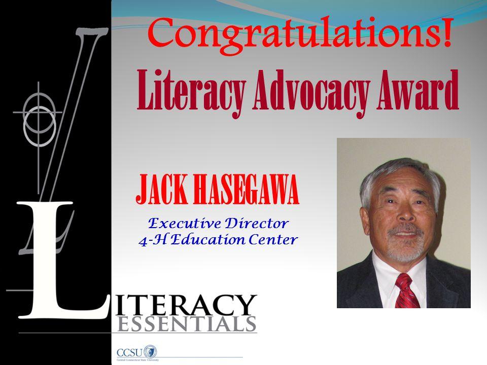 Literacy Advocacy Award
