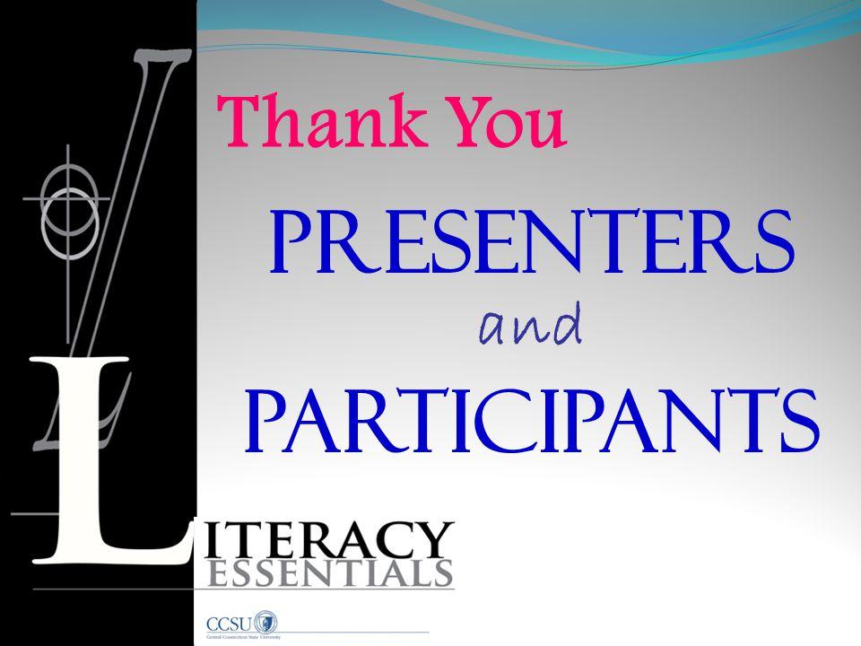 Presenters Participants