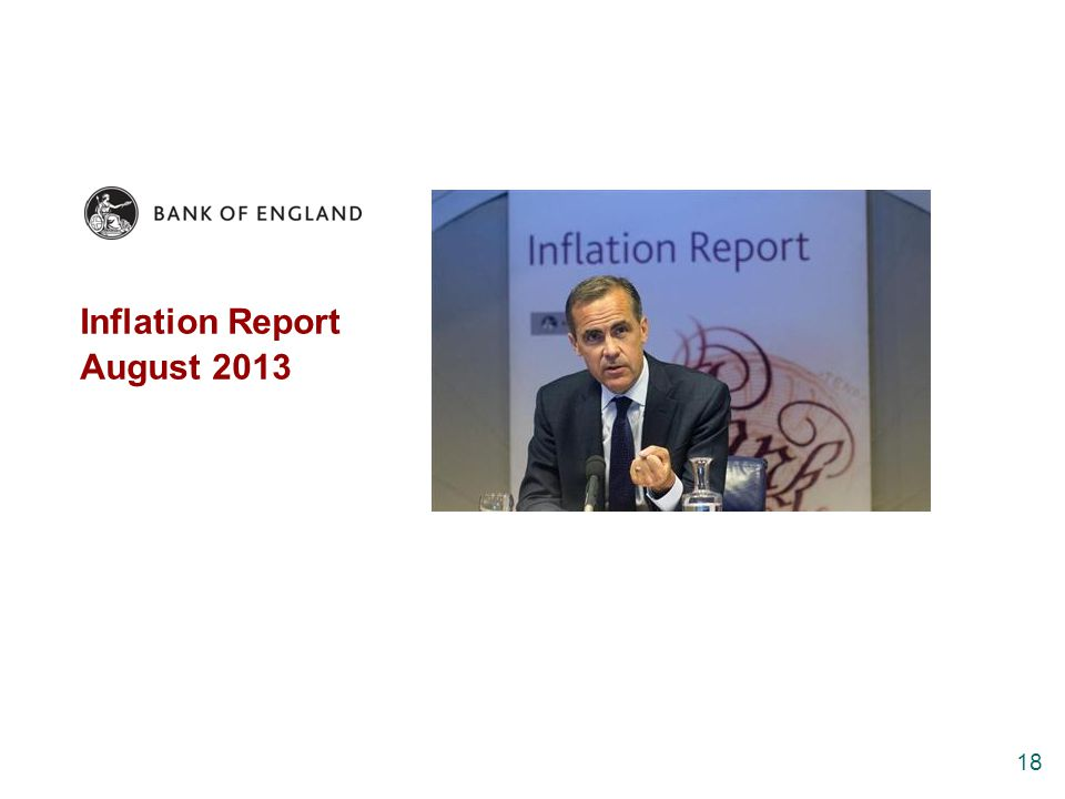 Inflation Report August 2013