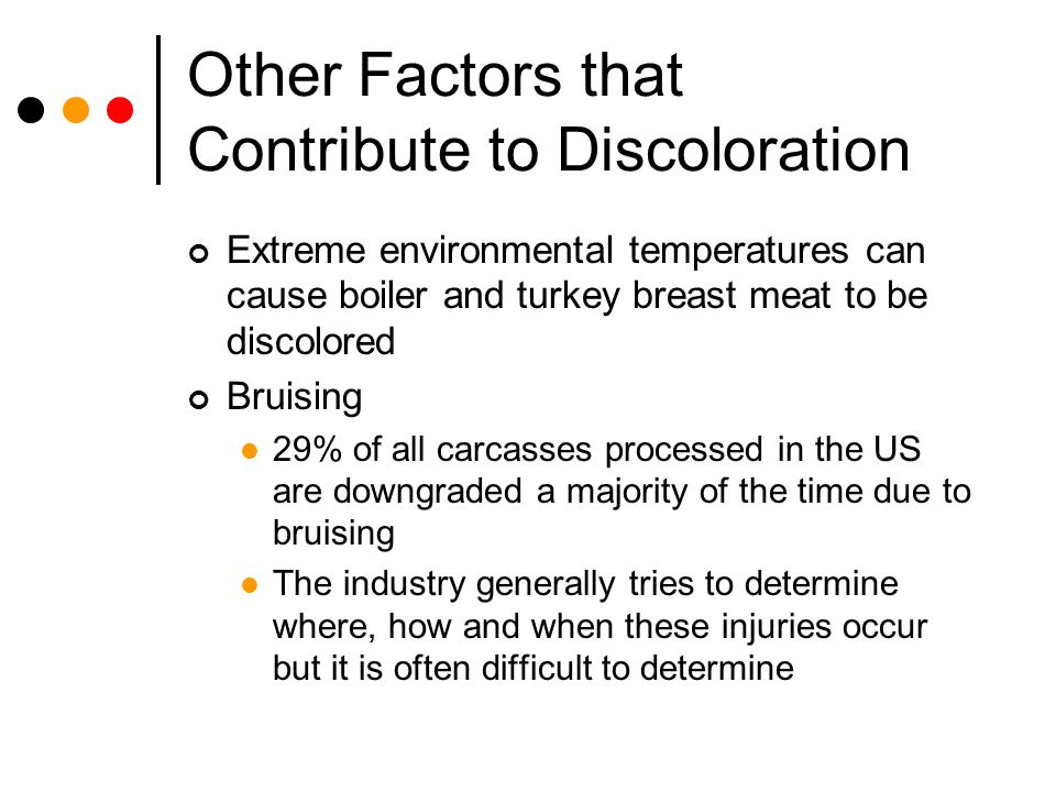 Other Factors that Contribute to Discoloration