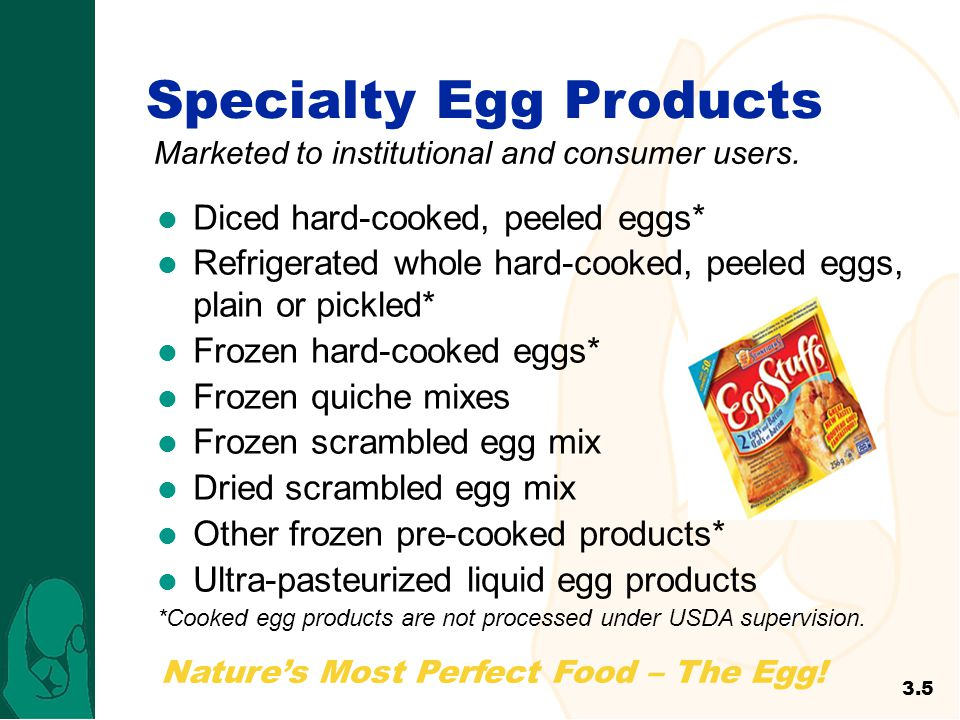 Specialty Egg Products