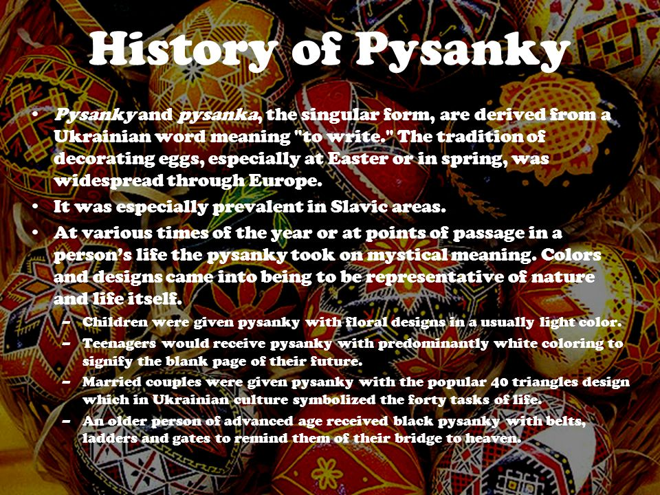 History of Pysanky