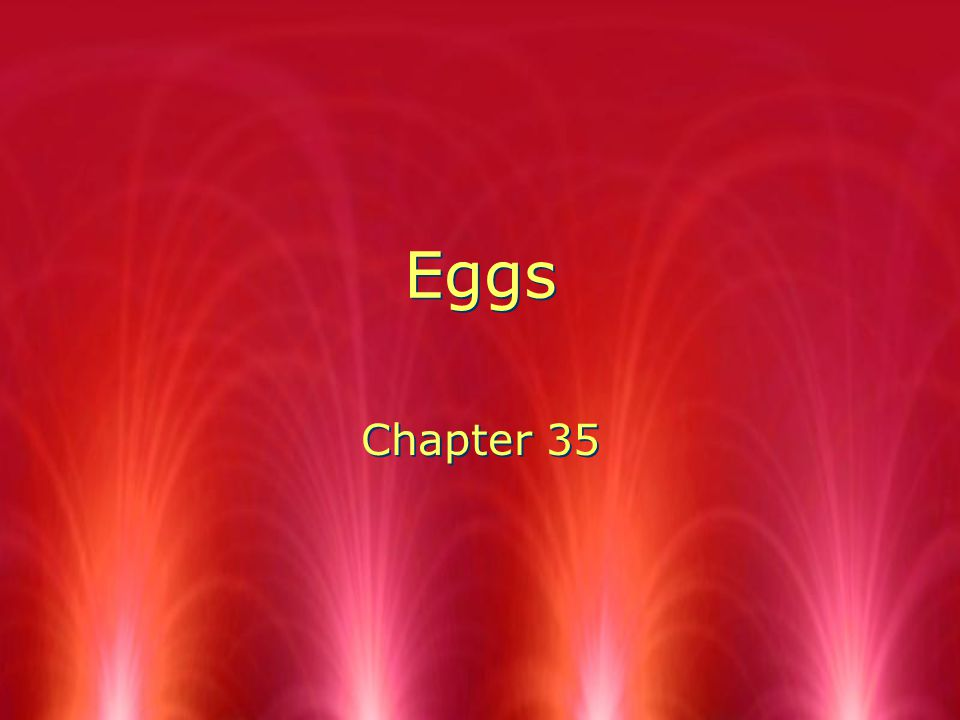 Eggs Chapter 35