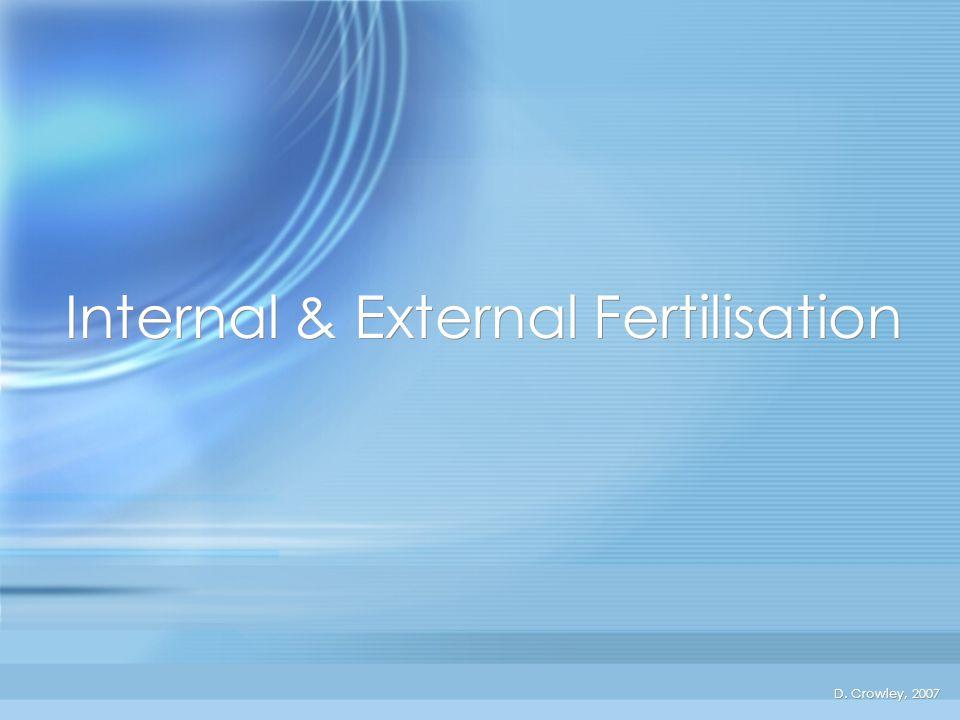 Internal & External Fertilisation