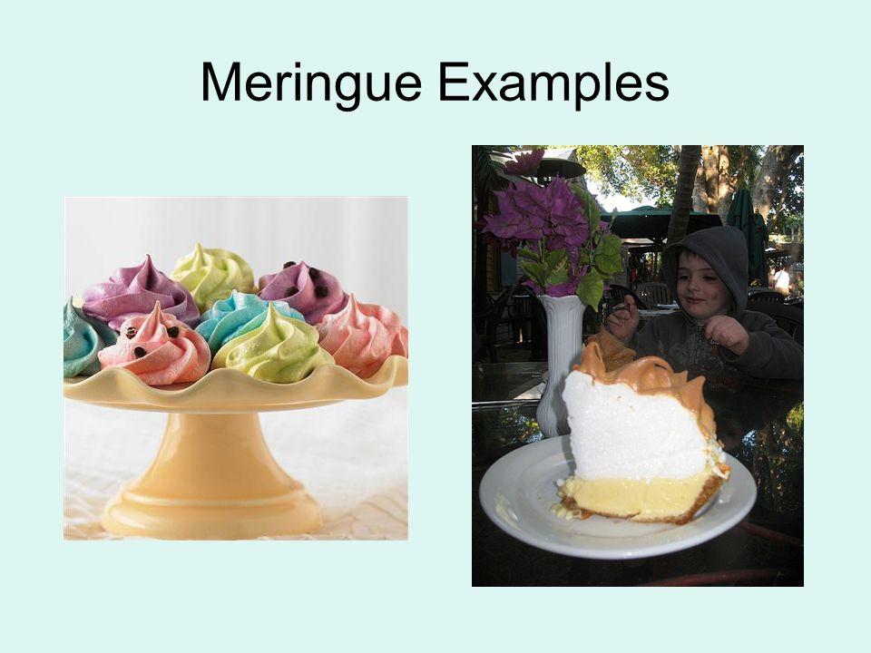 Meringue Examples
