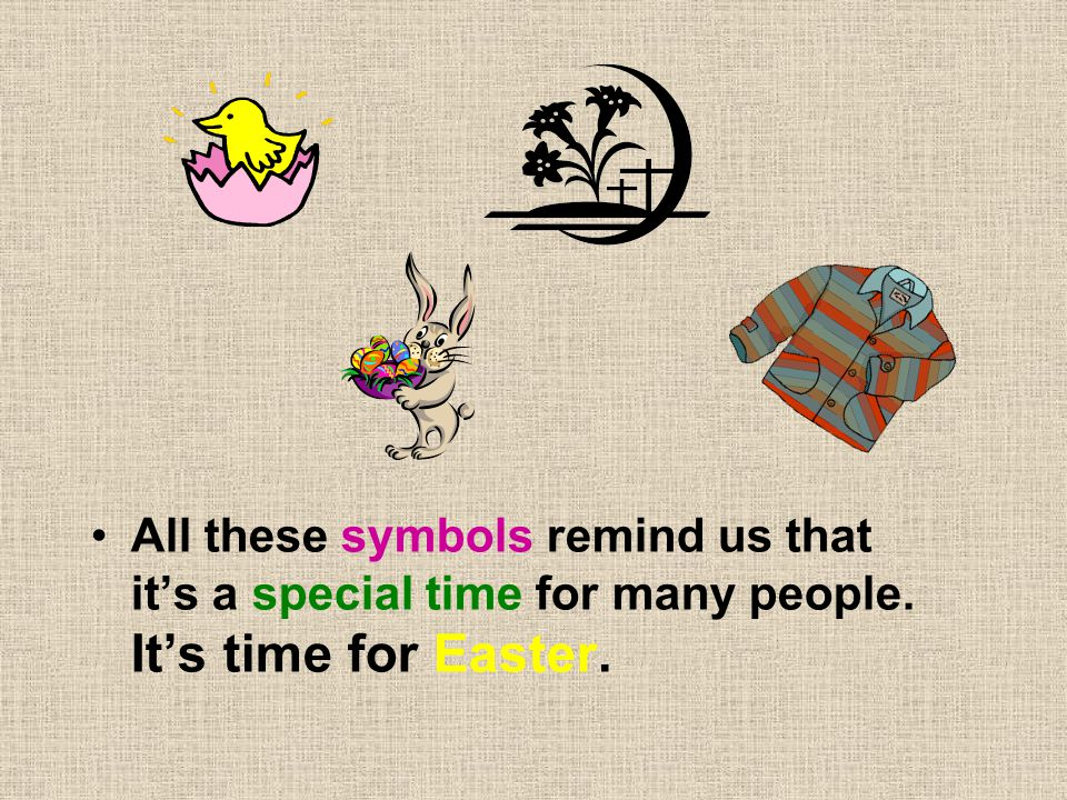 All these symbols remind us that it's a special time for many people