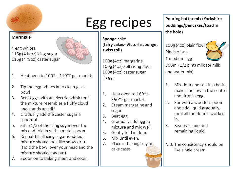 Egg recipes Pouring batter mix (Yorkshire puddings/pancakes/toad in