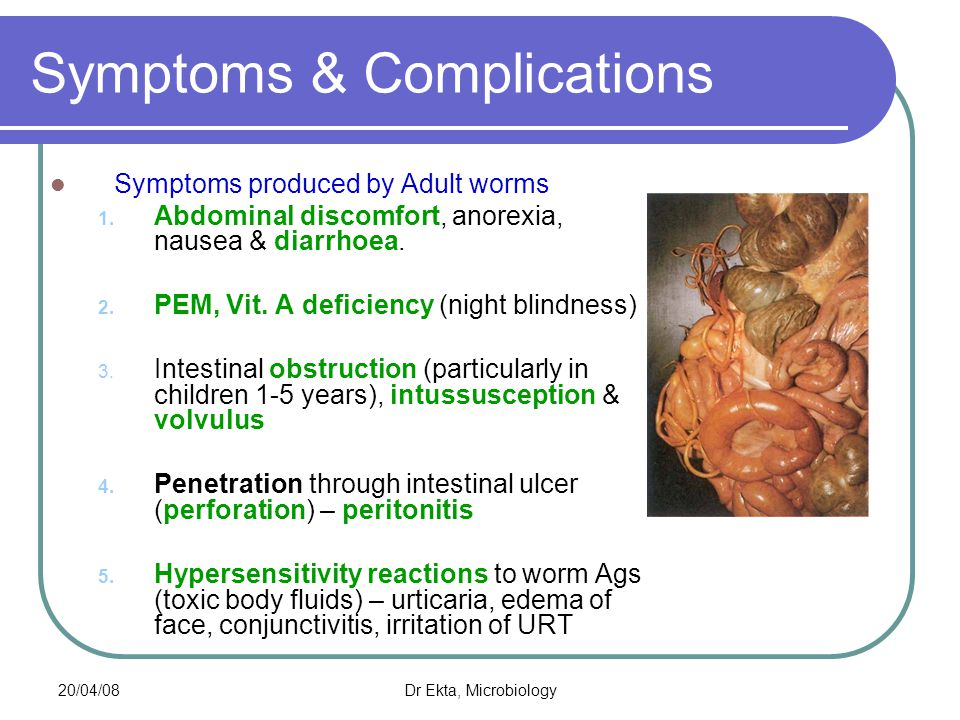 Symptoms & Complications
