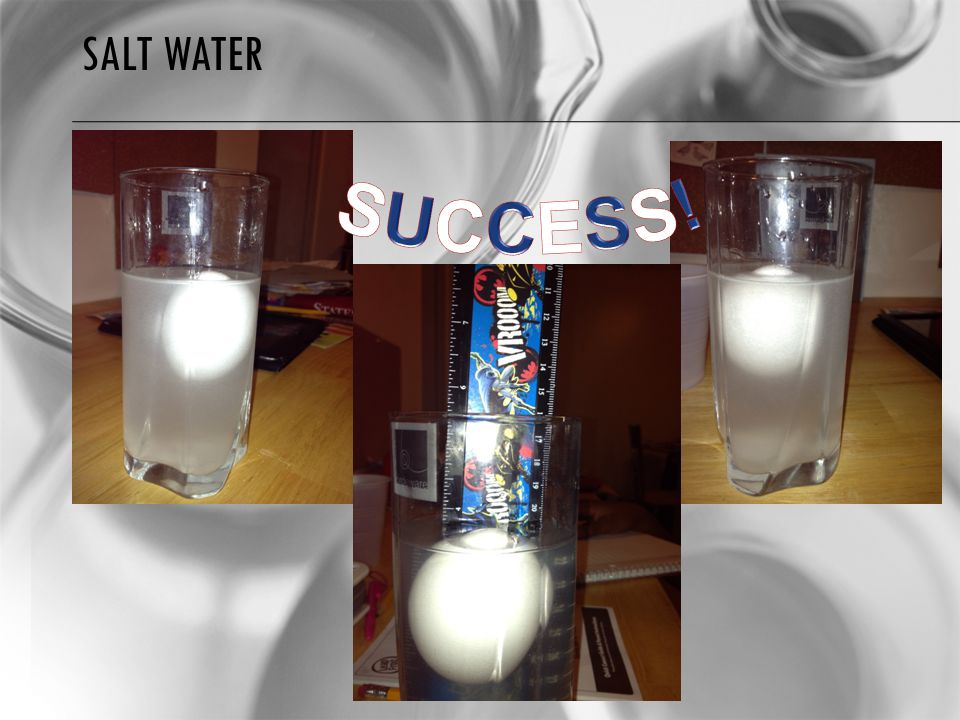 SALT WATER SUCCESS!