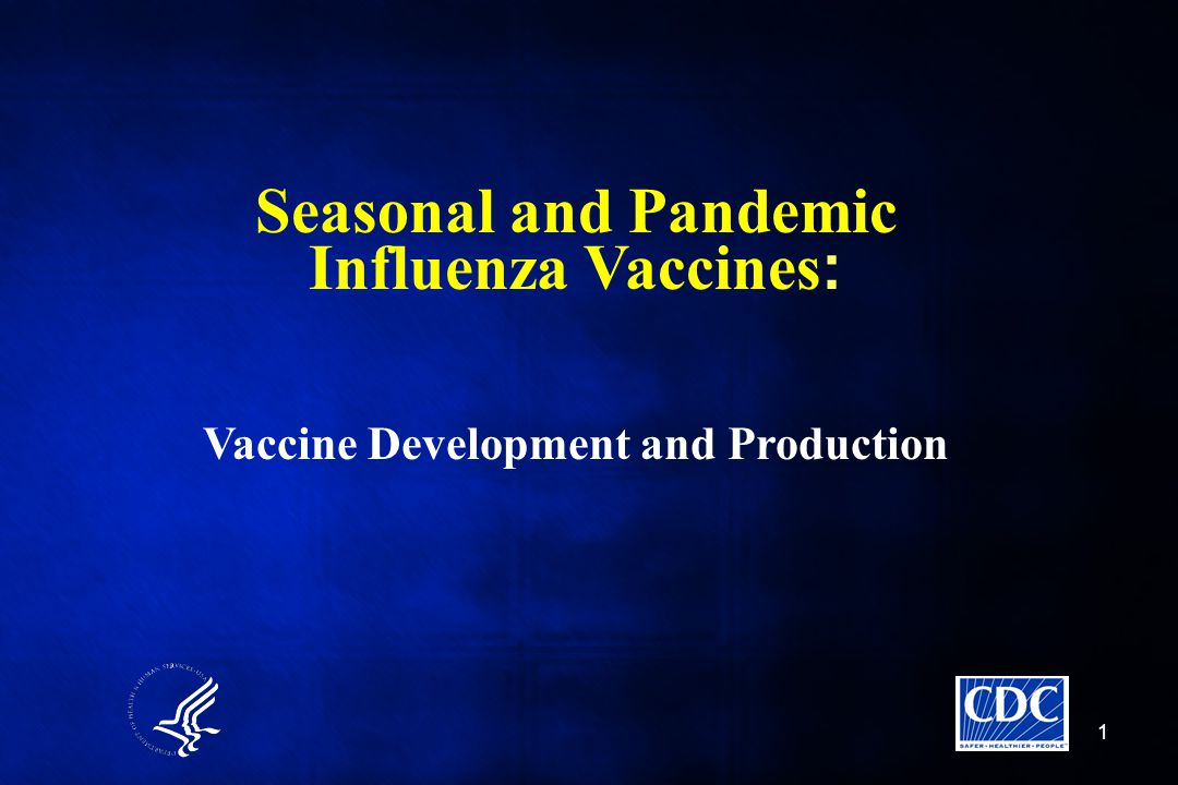 Seasonal and Pandemic Influenza Vaccines: