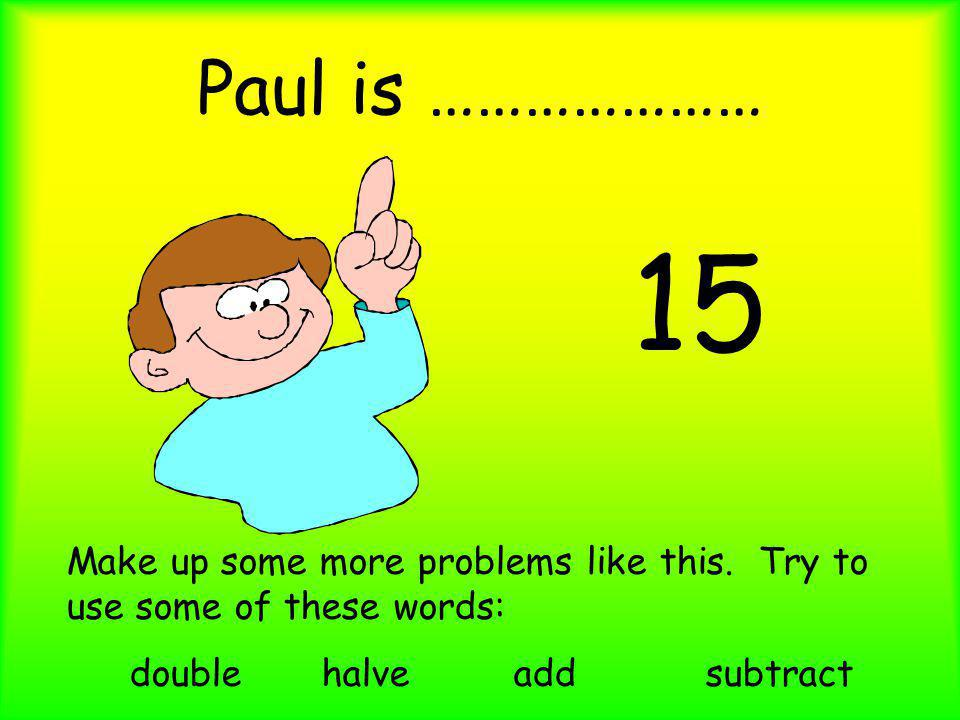 double halve add subtract