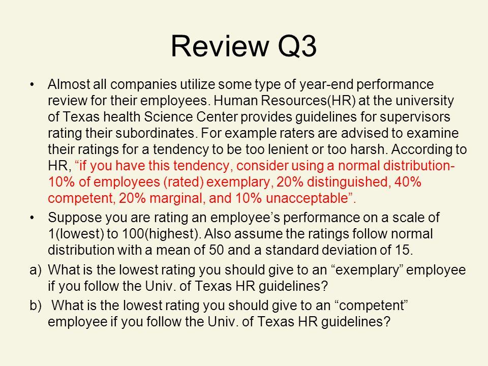 Review Q3