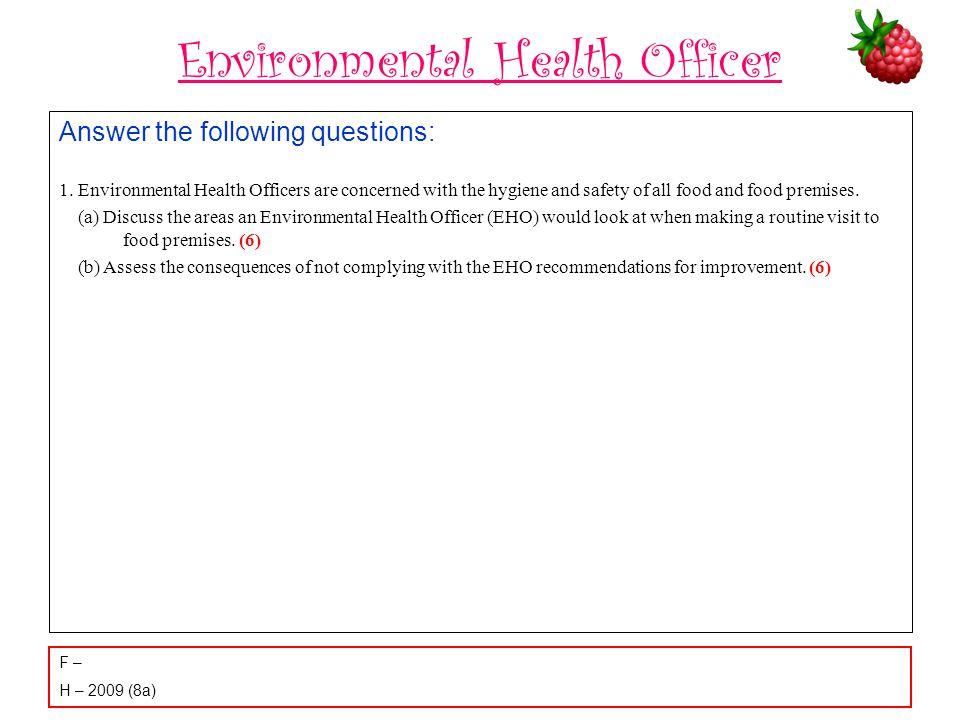 Environmental Health Officer
