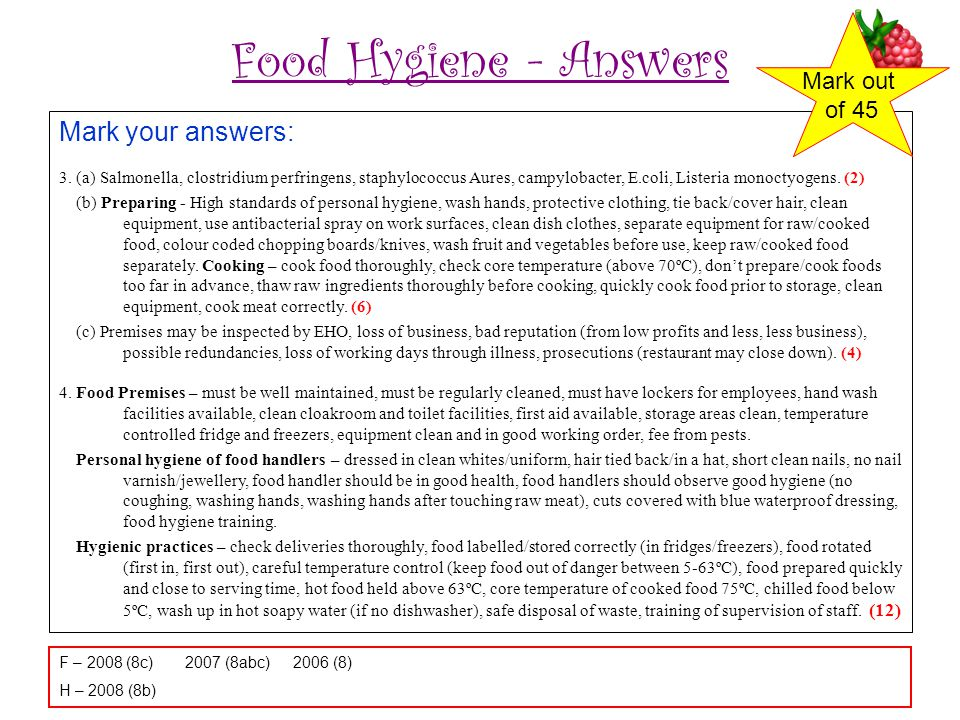 Food hygiene answers food safety answers oylekalakaaricofood safety ijerph free fulltext assessment of food safety knowledge fandeluxe Image collections