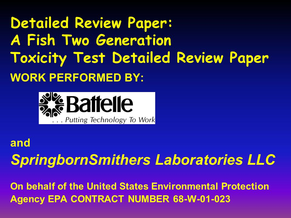 SpringbornSmithers Laboratories LLC
