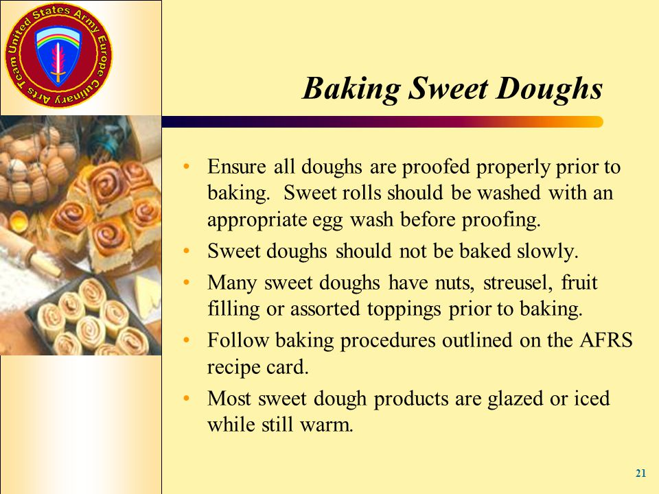 Baking Sweet Doughs