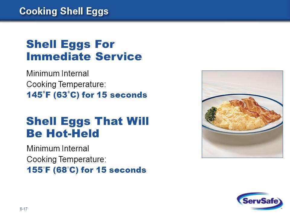 Shell Eggs For Immediate Service