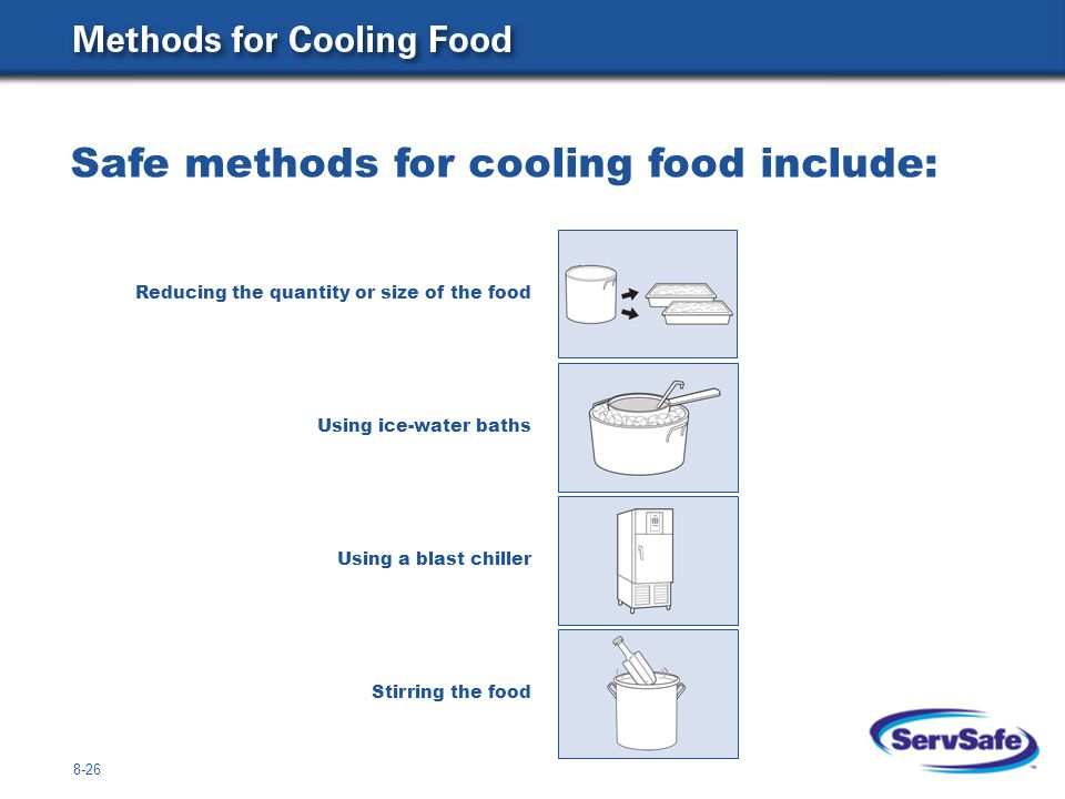 Cooling Food Properly : The four acceptable methods for thawing food ppt video