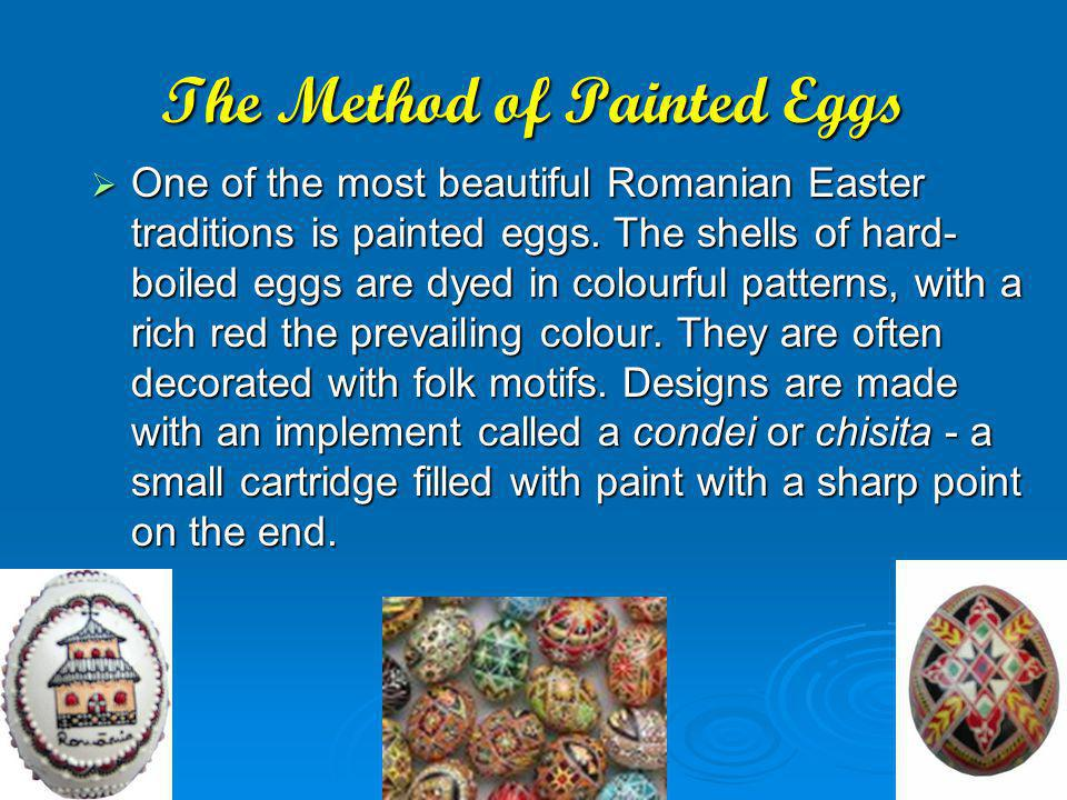 The Method of Painted Eggs