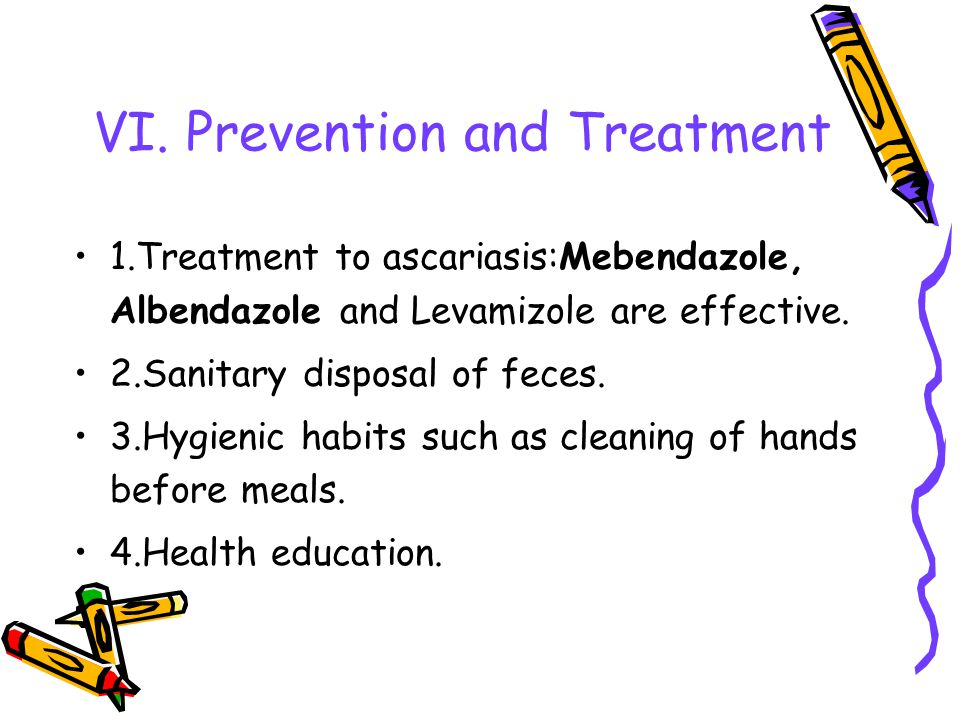 VI. Prevention and Treatment