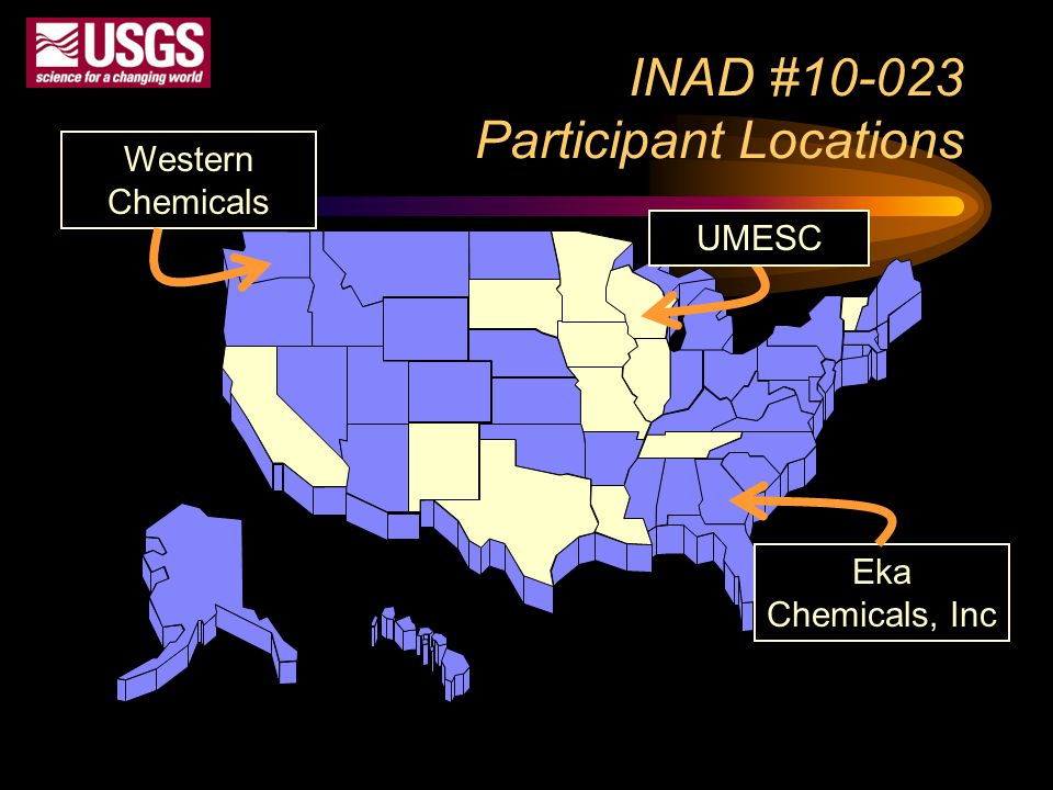 INAD #10-023 Participant Locations