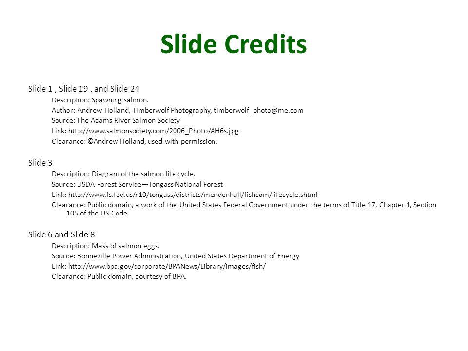 Slide Credits Slide 1 , Slide 19 , and Slide 24 Slide 3