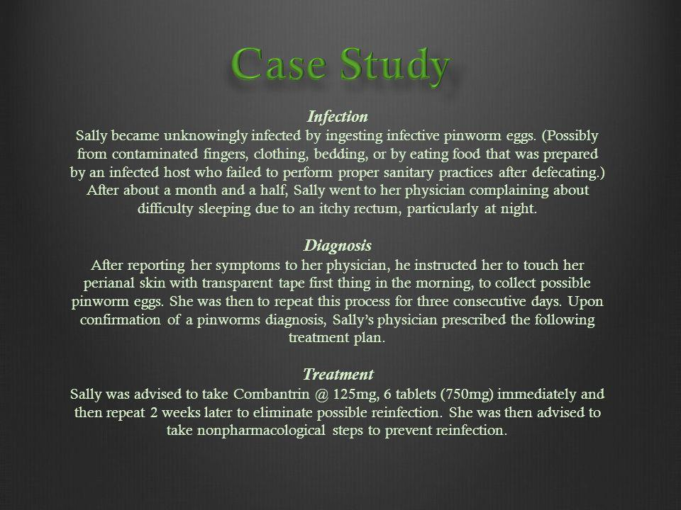 Case Study Infection Diagnosis Treatment