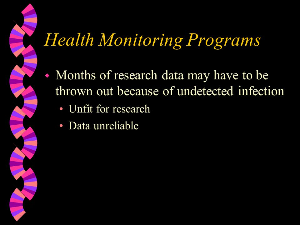 Health Monitoring Programs