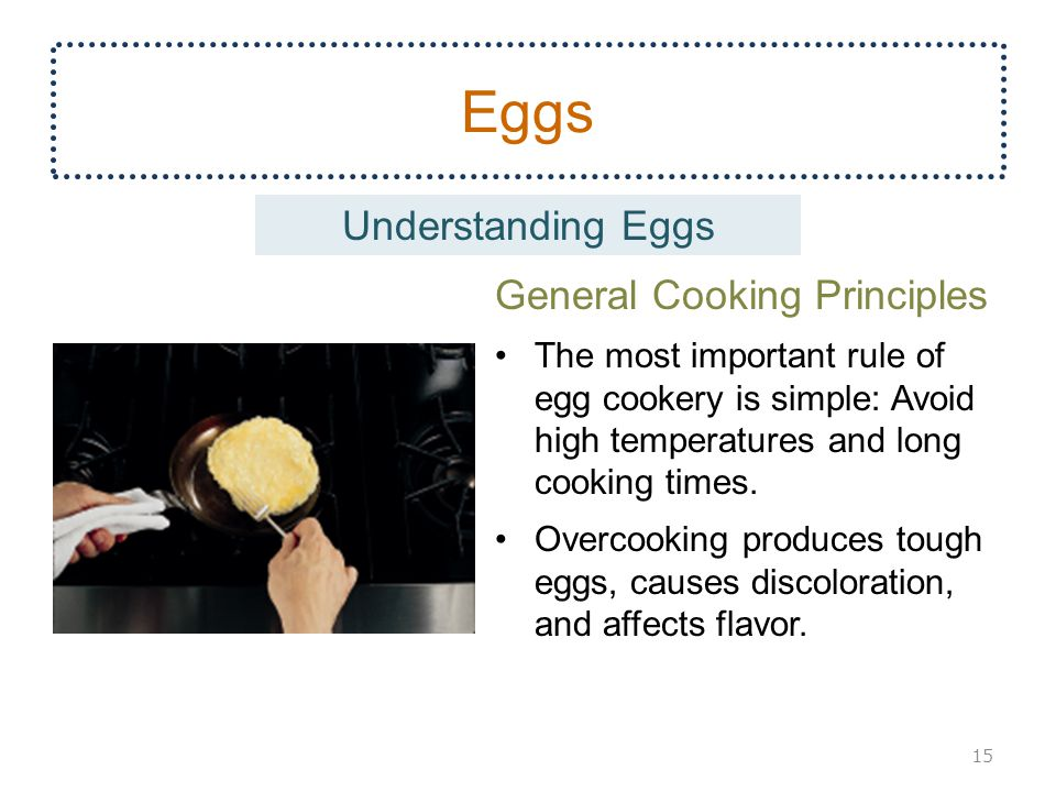Eggs Understanding Eggs General Cooking Principles