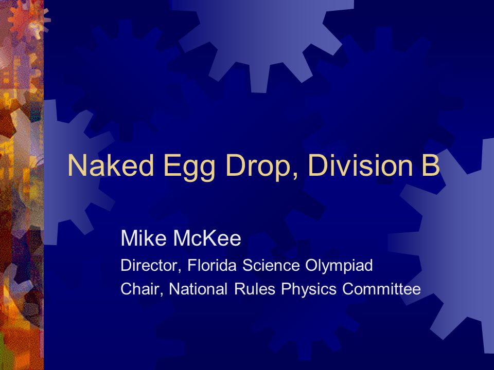 You abstract Naked egg drop contest pity