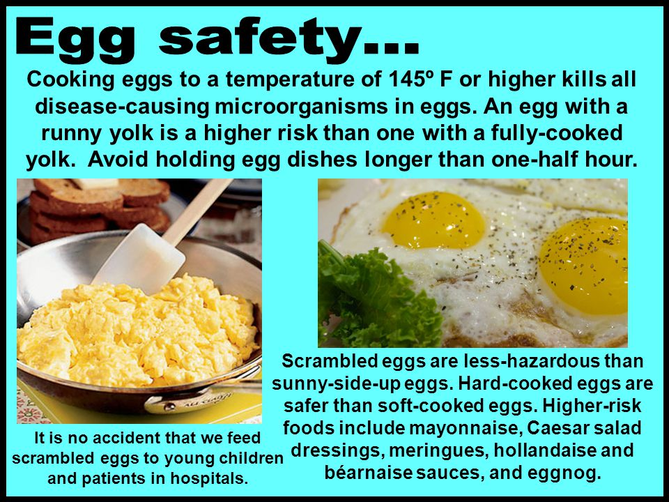 Egg safety…