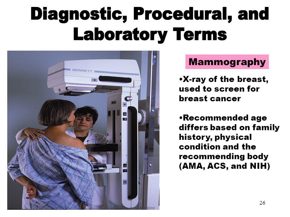 Diagnostic, Procedural, and