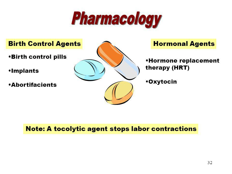 Pharmacology Pharmacology Birth Control Agents Hormonal Agents