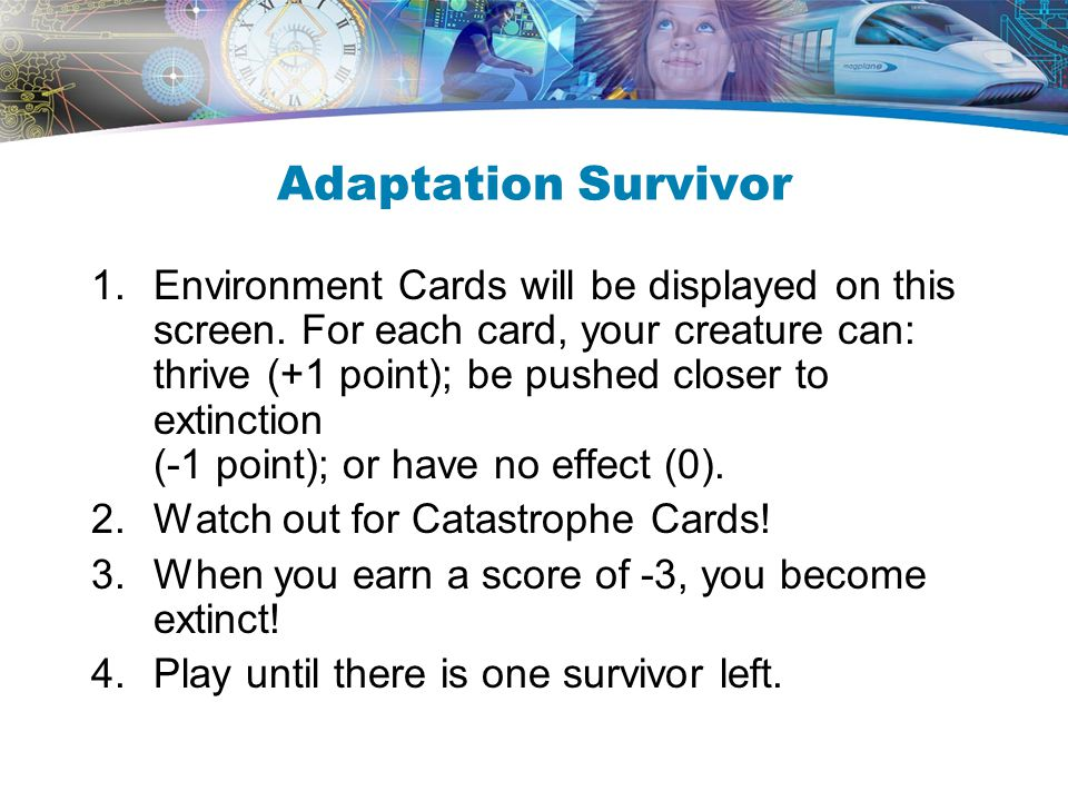 Adaptation Survivor