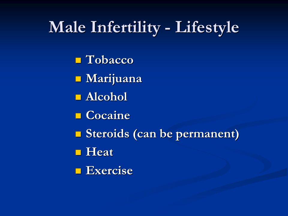 Male Infertility - Lifestyle