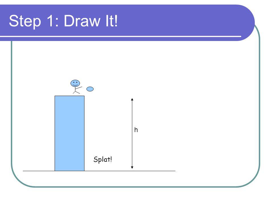 Step 1: Draw It! h Splat!