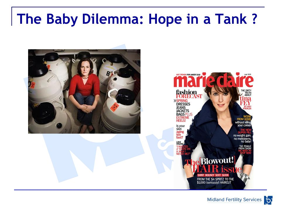 The Baby Dilemma: Hope in a Tank
