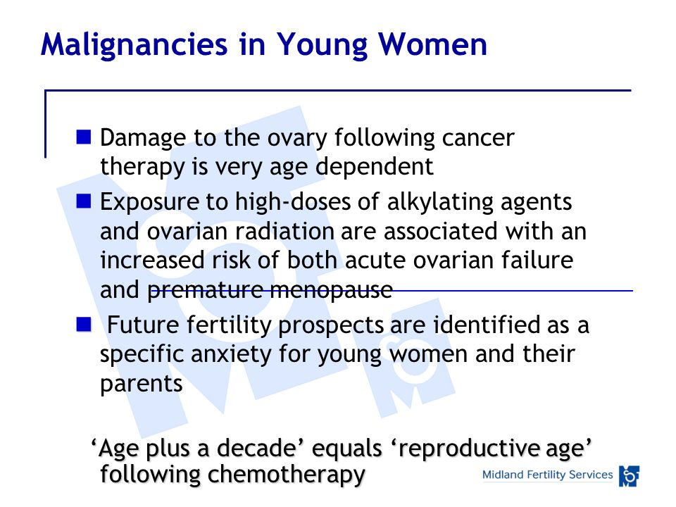 Malignancies in Young Women
