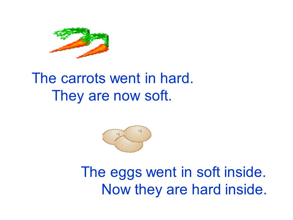 The carrots went in hard.