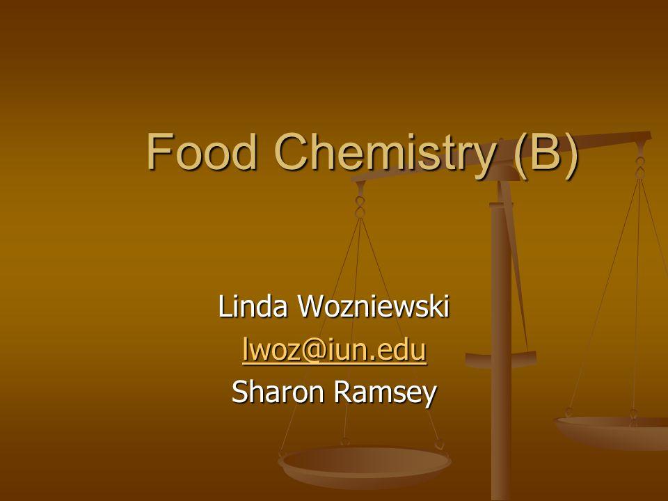 Linda Wozniewski lwoz@iun.edu Sharon Ramsey