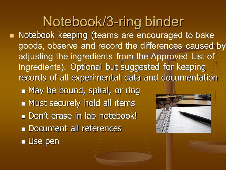 Notebook/3-ring binder