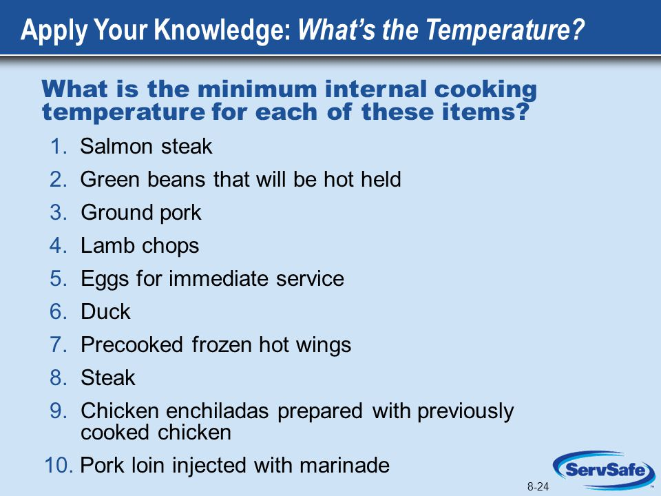 Apply Your Knowledge: What's the Temperature