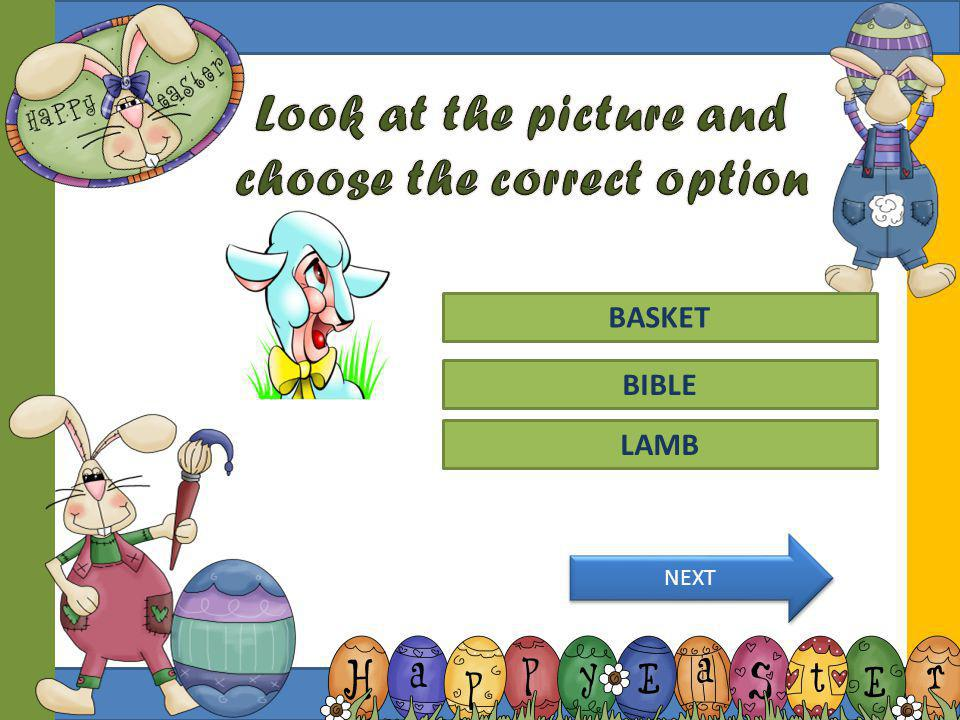 Look at the picture and choose the correct option