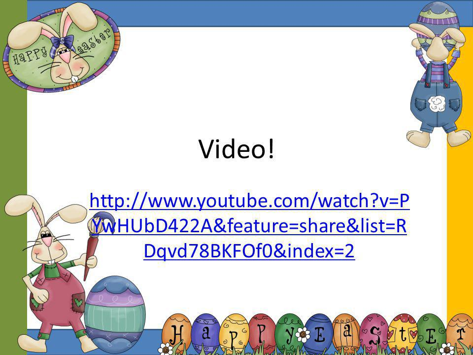 Video! http://www.youtube.com/watch v=PYwHUbD422A&feature=share&list=RDqvd78BKFOf0&index=2