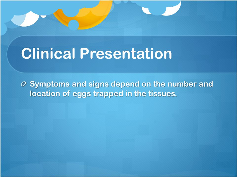 Clinical Presentation