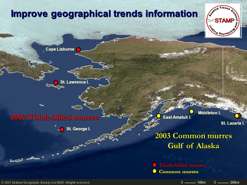 Improve geographical trends information