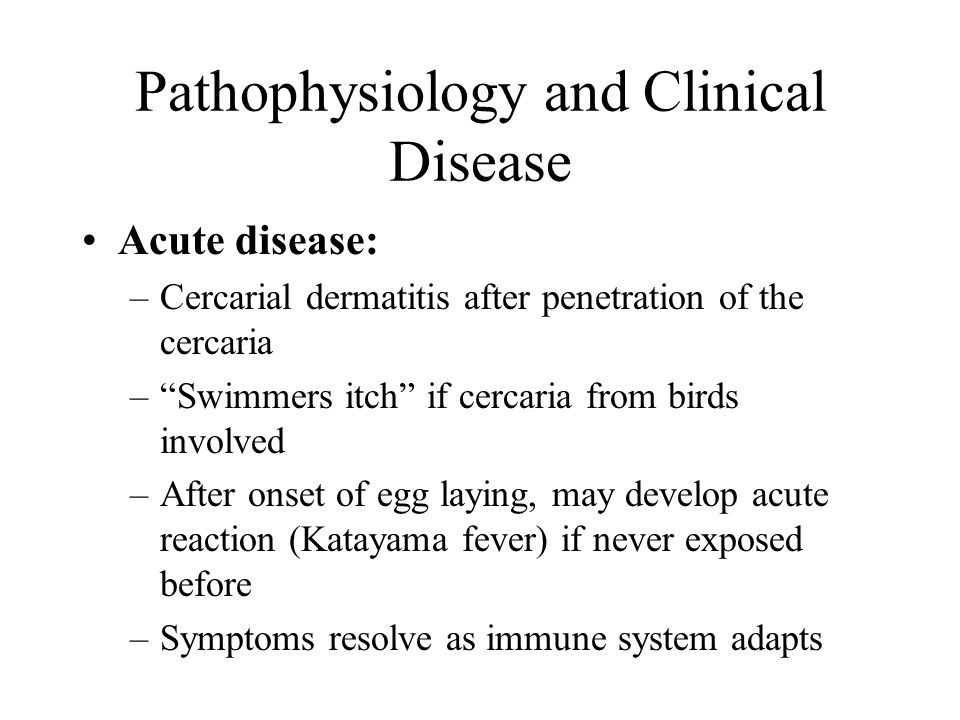 Pathophysiology and Clinical Disease